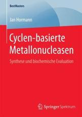 Cyclen-basierte Metallonucleasen - Jan Hormann