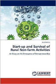 Start-up and Survival of Rural Non-farm Activities - Atul Mishra