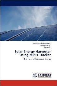 Solar Energy Harvester Using MPPT Tracker