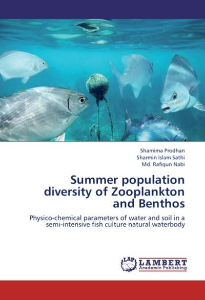 Summer population diversity of Zooplankton and Benthos - Shamima Prodhan