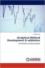 Analytical Method Development & Validation