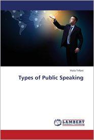 Types of Public Speaking