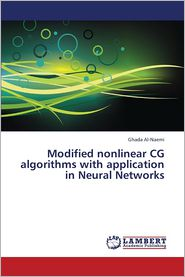 Modified Nonlinear CG Algorithms with Application in Neural Networks