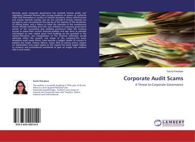 Corporate Audit Scams - Sachi Kheskani