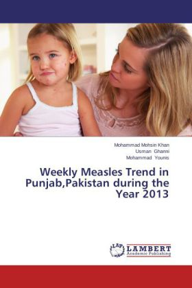 Weekly Measles Trend in Punjab,Pakistan during the Year 2013