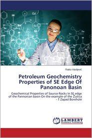 Petroleum Geochemistry Properties of Se Edge of Panonoan Basin