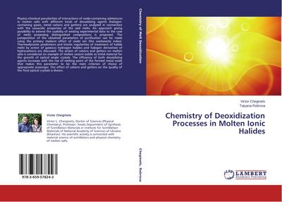 Chemistry of Deoxidization Processes in Molten Ionic Halides - Victor Cheginets