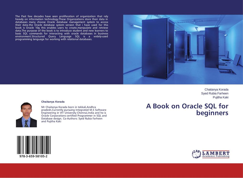 A Book on Oracle SQL for beginners als Buch von Chaitanya Korada, Syed Rubia Farheen, Pujitha Kaki - Chaitanya Korada, Syed Rubia Farheen, Pujitha Kaki