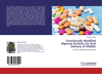 Functionally Modified Alginate Particles for Oral Delivery of NSAIDs - SABYASACHI MAITI