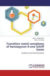 Transition metal complexes of benzopyran-4-one Schiff bases - Nora S. Abdel-Kader