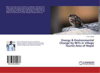 Energy & Environmental Change by RETs in Village Tourist Area of Nepal - Prem Subedi