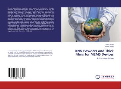 KNN Powders and Thick Films for MEMS Devices - Tony Lusiola