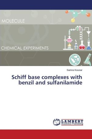 Schiff base complexes with benzil and sulfanilamide