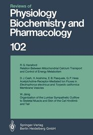 Reviews of Physiology, Biochemistry and Pharmacology - Springer Berlin Heidelberg