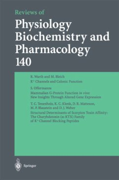 Reviews of Physiology, Biochemistry and Pharmacology - Blaustein, M. P. Greger, R. Grunicke, H. Lederer, W. J. Mendell, L. M. Miyajima, A. Pfanner, N. Schultz, HG.