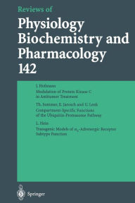 Reviews of Physiology, Biochemistry and Pharmacology - J. Hofmann