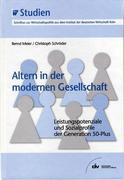 Bernd Meier;Christoph Schröder: Altern in der modernen Gesellschaft
