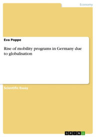 Rise of mobility programs in Germany due to globalisation - Eva Poppe