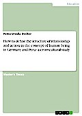 How to define the structure of relationship and action in the concept of human being in Germany and Peru - a cross-cultural study - Petra Ursula Decker