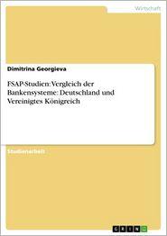FSAP-Studien: Vergleich der Bankensysteme: Deutschland und Vereinigtes Königreich