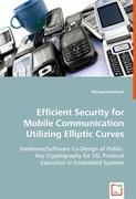 Efficient Security for Mobile Communication Utilizing Elliptic Curves