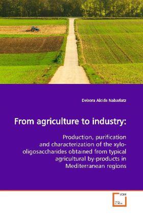 From agriculture to industry: - Production, purification and characterization of the xylo-oligosaccharides obtained from typical agricultural by-products in Mediterranean regions
