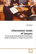 Information needs of lawyers