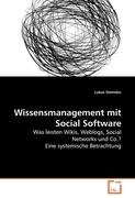 Wissensmanagement mit Social Software
