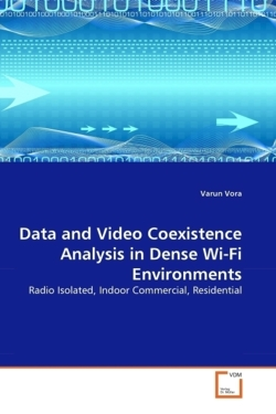 Data and Video Coexistence Analysis in Dense Wi-Fi Environments