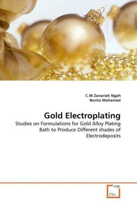 Gold Electroplating - Studies on Formulations for Gold Alloy Plating Bath to Produce Different shades of Electrodeposits