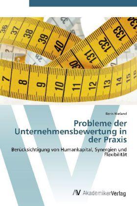 Probleme der Unternehmensbewertung in der Praxis - Berücksichtigung von Humankapital, Synergien und Flexibilität - Nieland, Boris