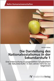 Die Darstellung des Nationalsozialismus in der Sekundarstufe 1