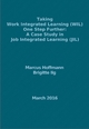 Taking Work Integrated Learning (WIL) One Step Further: A Case Study in Job Integrated Learning (JIL) - Marcus Hoffmann; Brigitte Ilg