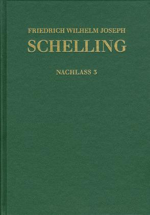 Historisch-kritische Ausgabe. Im Auftrag der Schelling-Kommission der Bayerischen Akademie der Wissenschaften / Nachlaß / Frühe theologische Arbeiten 1790–1791
