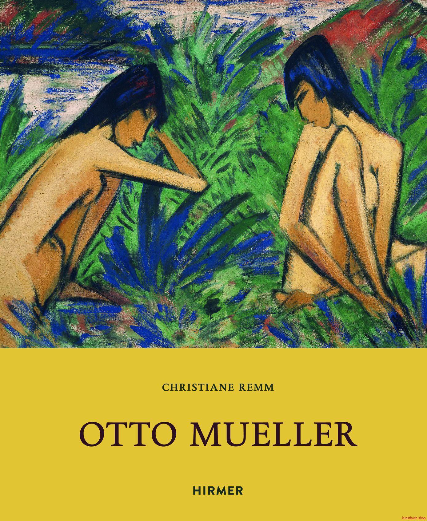 Otto Mueller  Ausstellungen in Berlin, Emden, Ravensberg in 2014-2016 - Christiane Remm