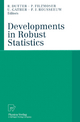Developments in Robust Statistics - Rudolf Dutter; Peter Filzmoser; Ursula Gather; Peter Rousseeuw