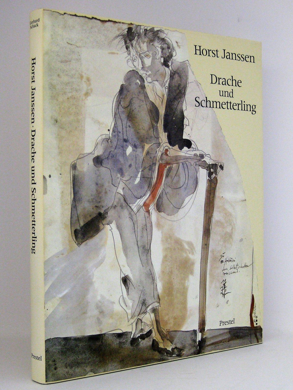 Horst Janssen - Drache und Schmetterling : Zeichnungen und Radierungen nach japanischen Vorbildern. Horst Janssen zum 60. Geburtstag - Schack, Gerhard Janssen, Horst [Künstler]