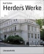 Karl Schön: Herders Werke