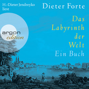 Dieter Forte: Das Labyrinth der Welt - Ein Buch