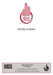Ich bin so heiter: Single Songbook