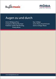 Augen zu und durch - as performed by Wolfgang Petry, Single Songbook