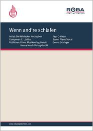 Wenn and?re schlafen - as performed by Bernhard Brink, Single Songbook