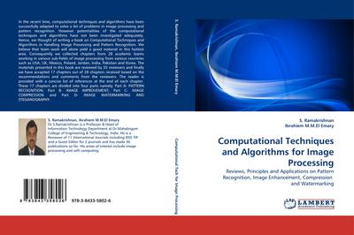 Computational Techniques and Algorithms for Image Processing - S. Ramakrishnan