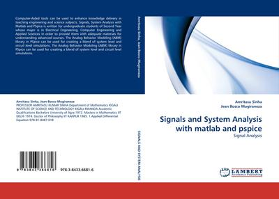 Signals and System Analysis with matlab and pspice - Amritasu Sinha