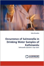 Occurrence Of Salmonella In Drinking Water Samples Of Kathmandu - Esha Shrestha