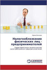 Nalogooblozhenie Fizicheskikh Lits - Predprinimateley