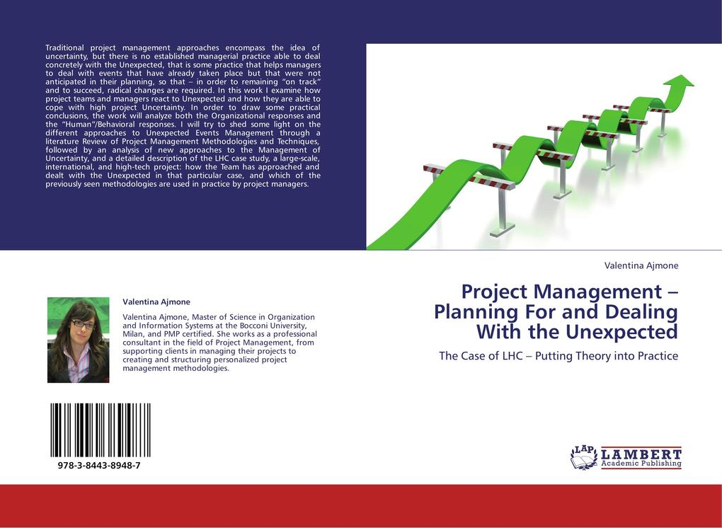 Project Management - Planning For and Dealing With the Unexpected als Buch von Valentina Ajmone - LAP Lambert Acad. Publ.