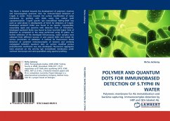 POLYMER AND QUANTUM DOTS FOR IMMUNOBASED DETECTION OF S.TYPHI IN WATER - Jackeray, Richa