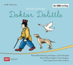 Doktor Dolittle, 2 Audio-CDs - Lofting, Hugh