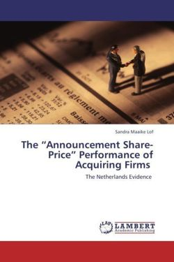 """The """"Announcement Share-Price"""" Performance of Acquiring Firms"""